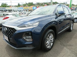 2019 Hyundai Santa Fe TM MY19 Active Blue 8 Speed Sports Automatic Wagon.