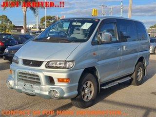 2003 Mitsubishi Delica PD6W Spacegear Chamonix Silver Automatic Van Wagon.