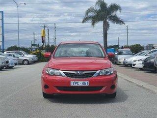 2009 Subaru Impreza G3 R Red Sports Automatic Hatchback.