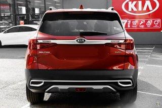 2020 Kia Seltos SP2 MY21 GT-Line DCT AWD Orange 7 Speed Sports Automatic Dual Clutch Wagon.