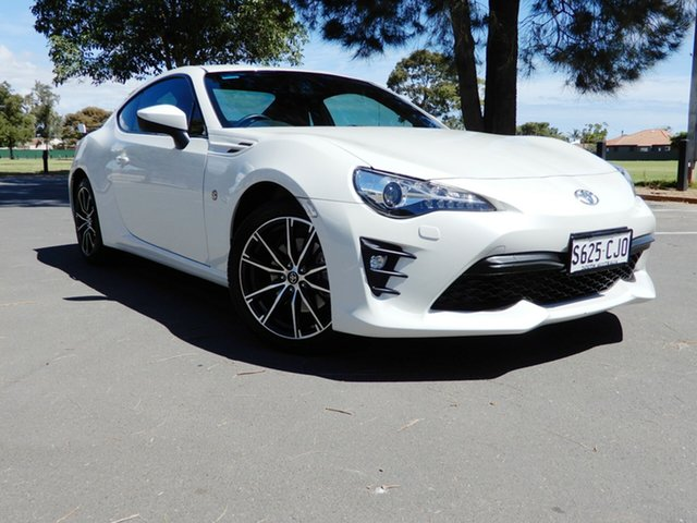 Used Toyota 86 ZN6 GTS Glenelg, 2018 Toyota 86 ZN6 GTS White 6 Speed Sports Automatic Coupe