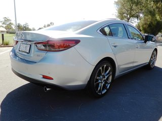 2016 Mazda 6 GJ1032 Atenza SKYACTIV-Drive Silver 6 Speed Sports Automatic Sedan.