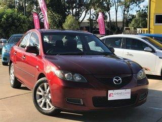 2008 Mazda 3 BK10F2 MY08 Neo Sport Red 5 Speed Manual Sedan.