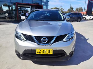2017 Nissan Qashqai J11 ST Silver, Chrome 1 Speed Constant Variable Wagon