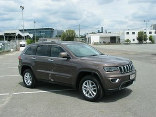 2017 Jeep Grand Cherokee WK MY18 Limited (4x4) Brown 8 Speed Automatic Wagon.