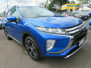 2019 Mitsubishi Eclipse Cross YA MY19 LS 2WD Blue 8 Speed Constant Variable Wagon.
