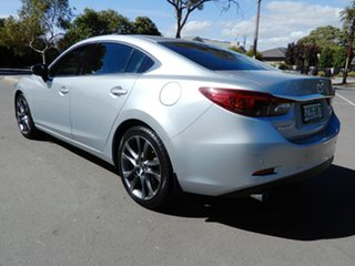 2016 Mazda 6 GJ1032 Atenza SKYACTIV-Drive Silver 6 Speed Sports Automatic Sedan