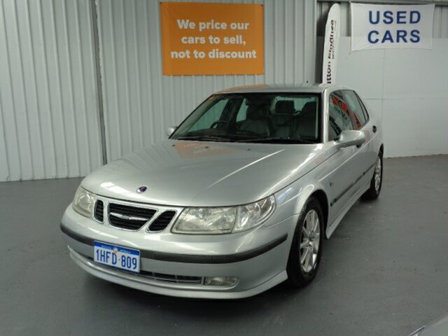 Used Saab 9-5 MY2004 ARC Rockingham, 2005 Saab 9-5 MY2004 ARC Silver 5 Speed Sports Automatic Sedan