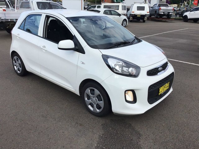 Pre-Owned Kia Picanto TA MY17 SI Cardiff, 2016 Kia Picanto TA MY17 SI White 4 Speed Automatic Hatchback