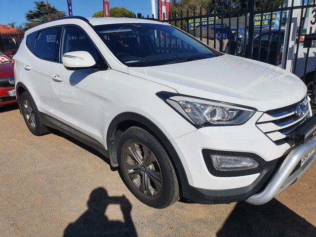 Used Hyundai Santa Fe DM MY13 Active Morphett Vale, 2013 Hyundai Santa Fe DM MY13 Active White 6 Speed Sports Automatic Wagon
