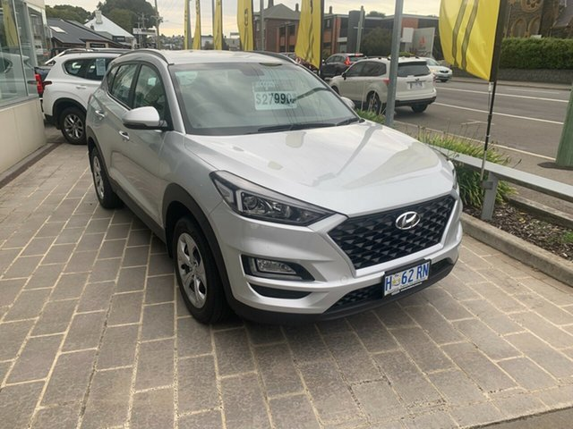 Used Hyundai Tucson TL3 MY19 Go AWD Launceston, 2019 Hyundai Tucson TL3 MY19 Go AWD Platinum Silver 8 Speed Sports Automatic Wagon