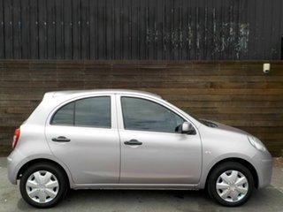 2011 Nissan Micra K13 ST-L Mauve 4 Speed Automatic Hatchback.