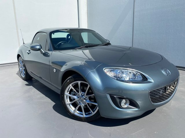 Used Mazda MX-5 NC30F2 MY09 Liverpool, 2011 Mazda MX-5 NC30F2 MY09 Grey 6 Speed Manual Softtop