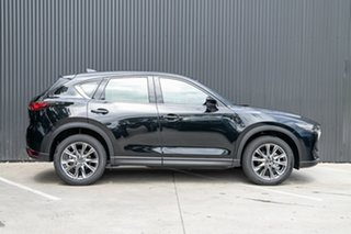 2020 Mazda CX-5 KF4W2A Akera SKYACTIV-Drive i-ACTIV AWD Jet Black 6 Speed Sports Automatic Wagon.