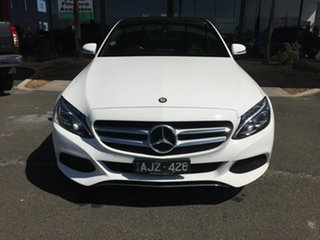 2016 Mercedes-Benz C200 205 MY16 White 7 Speed Automatic Sedan.