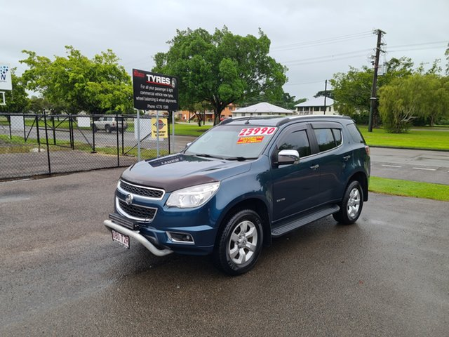 Used Holden Colorado 7 LTZ (4x4) Ingham, 2014 Holden Colorado 7 LTZ (4x4) Blue Mountain 6 Speed Automatic Wagon