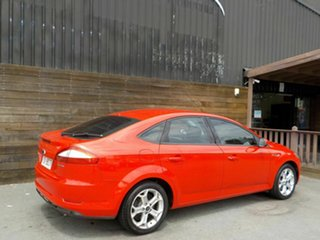 2007 Ford Mondeo MA Zetec Red 6 Speed Sports Automatic Hatchback