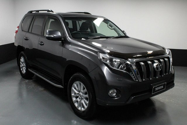 Used Toyota Landcruiser Prado GDJ150R VX Cardiff, 2016 Toyota Landcruiser Prado GDJ150R VX Grey 6 Speed Sports Automatic Wagon
