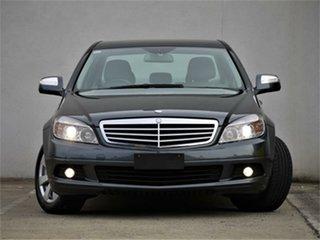 2008 Mercedes-Benz C-Class W204 C200 Kompressor Classic Tenorite Grey Sports Automatic Sedan.