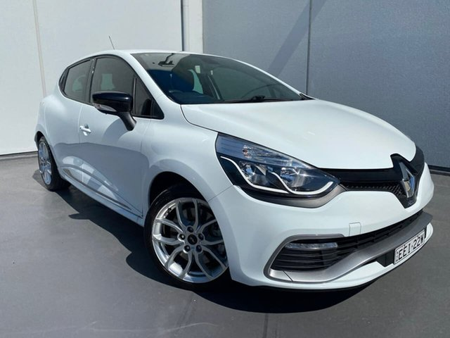 Used Renault Clio IV B98 R.S. 200 EDC Sport Liverpool, 2014 Renault Clio IV B98 R.S. 200 EDC Sport White 6 Speed Sports Automatic Dual Clutch Hatchback