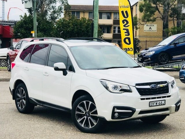 Used Subaru Forester S4 MY17 2.5i-L CVT AWD Liverpool, 2016 Subaru Forester S4 MY17 2.5i-L CVT AWD White 6 Speed Constant Variable Wagon