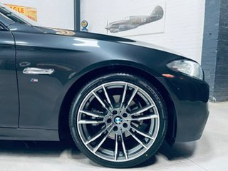 2015 BMW 5 Series F10 LCI 520i Steptronic M Sport Grey 8 Speed Sports Automatic Sedan.