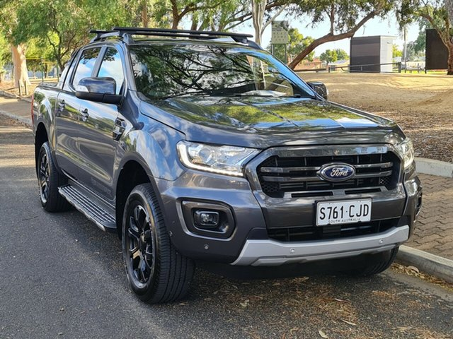 Used Ford Ranger PX MkIII 2019.00MY Wildtrak Nailsworth, 2018 Ford Ranger PX MkIII 2019.00MY Wildtrak Grey 6 Speed Sports Automatic Utility