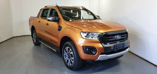 2019 Ford Ranger PX MkIII 2019.00MY Wildtrak Orange 10 Speed Sports Automatic Double Cab Pick Up