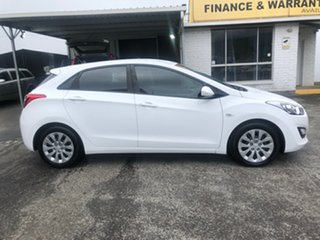 2015 Hyundai i30 GD3 Series II MY16 Active Polar White 6 Speed Sports Automatic Hatchback.