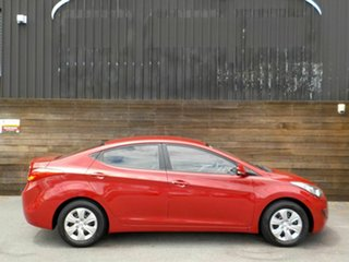 2013 Hyundai Elantra MD3 Active Red 6 Speed Manual Sedan.