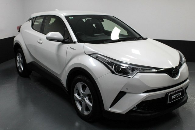 Used Toyota C-HR NGX10R S-CVT 2WD Cardiff, 2018 Toyota C-HR NGX10R S-CVT 2WD White 7 Speed Constant Variable Wagon