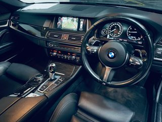 2015 BMW 5 Series F10 LCI 520i Steptronic M Sport Grey 8 Speed Sports Automatic Sedan