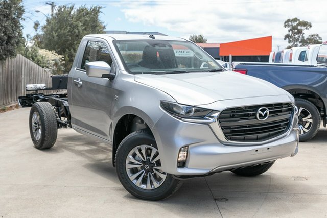 New Mazda BT-50 TFR40J XT 4x2 Mornington, 2021 Mazda BT-50 TFR40J XT 4x2 Ingot Silver 6 Speed Sports Automatic Cab Chassis