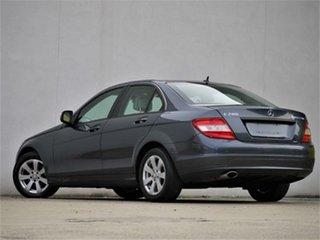 2008 Mercedes-Benz C-Class W204 C200 Kompressor Classic Tenorite Grey Sports Automatic Sedan