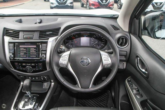 Demo Nissan Navara ST-X Gympie, 2020 Nissan Navara ST-X White Diamond Sports Automatic Dual Cab Utility