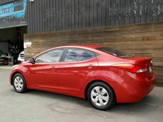2013 Hyundai Elantra MD3 Active Red 6 Speed Manual Sedan