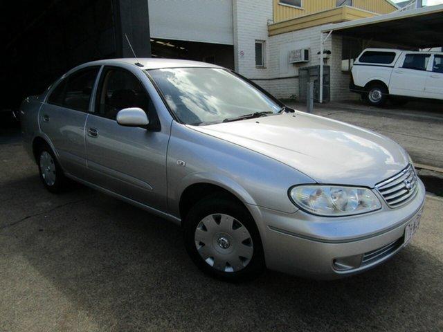 Used Nissan Pulsar N16 MY2004 ST Moorooka, 2005 Nissan Pulsar N16 MY2004 ST Silver 4 Speed Automatic Sedan