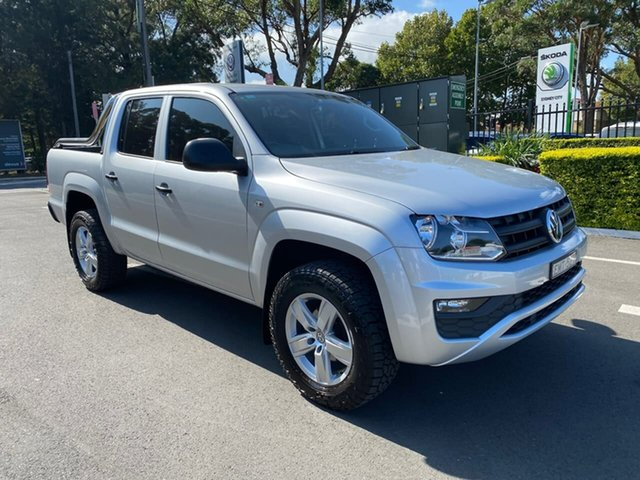 Used Volkswagen Amarok 2H MY18 TDI420 4MOTION Perm Core Botany, 2018 Volkswagen Amarok 2H MY18 TDI420 4MOTION Perm Core Silver 8 Speed Automatic Utility