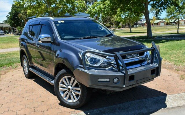 Used Isuzu MU-X MY17 LS-T Rev-Tronic 4x2 Ingle Farm, 2017 Isuzu MU-X MY17 LS-T Rev-Tronic 4x2 Grey 6 Speed Sports Automatic Wagon