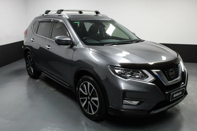 Used Nissan X-Trail T32 Series II Ti X-tronic 4WD Cardiff, 2017 Nissan X-Trail T32 Series II Ti X-tronic 4WD Grey 7 Speed Constant Variable Wagon