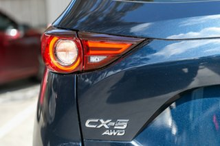 2020 Mazda CX-5 KF4WLA Akera SKYACTIV-Drive i-ACTIV AWD Deep Crystal Blue 6 Speed Sports Automatic