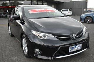 2012 Toyota Corolla ZRE182R Ascent Sport S-CVT Black 7 Speed Constant Variable Hatchback.