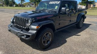 2020 Jeep Gladiator JT MY20 Rubicon Pick-up Black 8 Speed Automatic Utility.