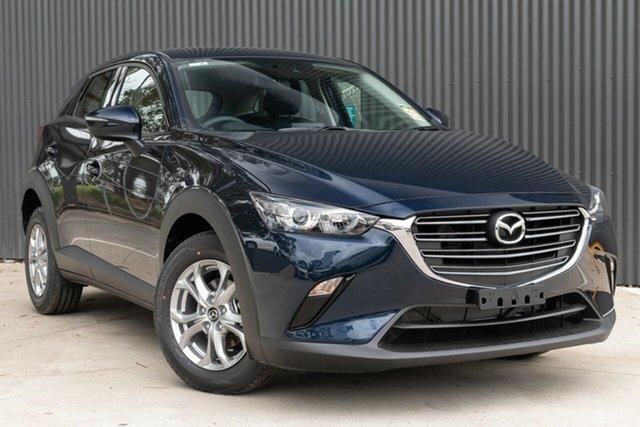 New Mazda CX-3 Mornington, 2021 Mazda CX-3 CX-3 F 6AUTO MAXX SPORT PETROL FWD Deep Crystal Blue Wagon