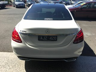 2016 Mercedes-Benz C200 205 MY16 White 7 Speed Automatic Sedan