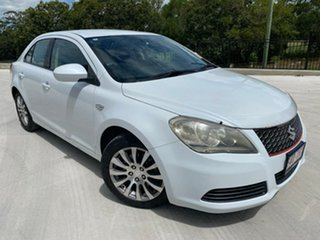 2013 Suzuki Kizashi FR MY13 Touring White 6 Speed Constant Variable Sedan