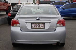 2012 Subaru Impreza G4 MY12 2.0i Lineartronic AWD Silver 6 Speed Constant Variable Sedan