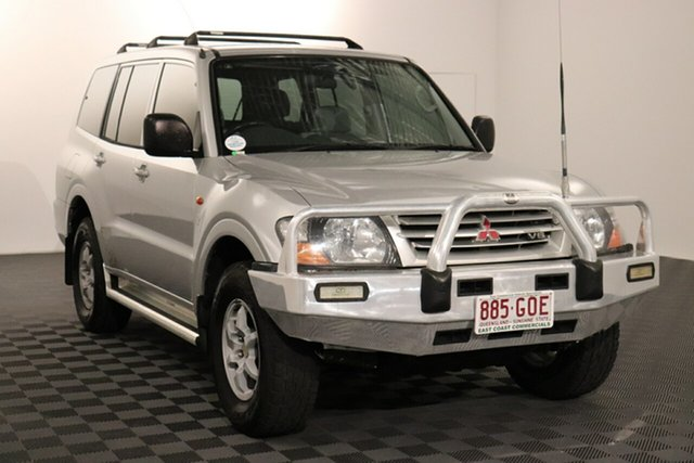 Used Mitsubishi Pajero NM MY2002 Commonwealth Games Edition GLX Acacia Ridge, 2002 Mitsubishi Pajero NM MY2002 Commonwealth Games Edition GLX Silver 5 speed Automatic Wagon
