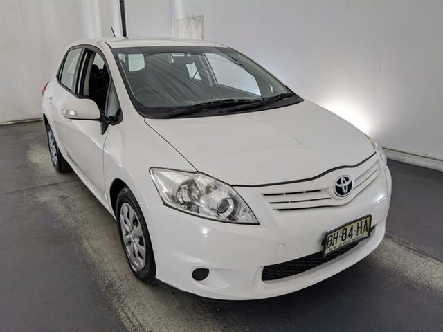 Used Toyota Corolla ZRE152R MY10 Ascent Maryville, 2010 Toyota Corolla ZRE152R MY10 Ascent White 4 Speed Automatic Hatchback