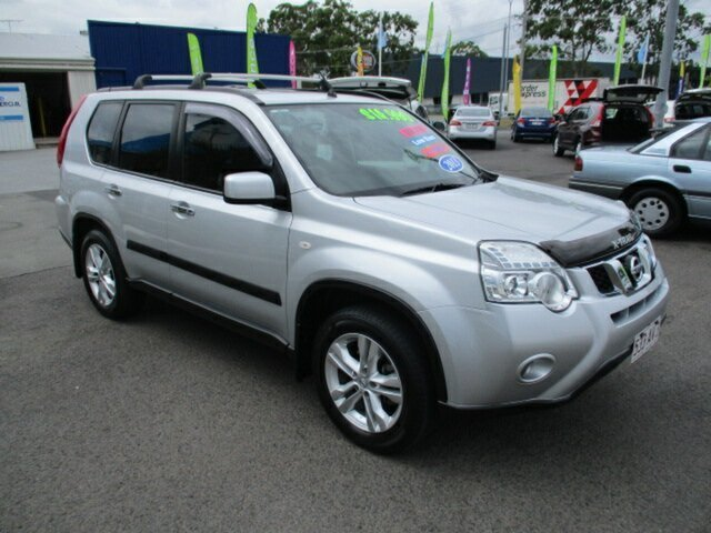 Used Nissan X-Trail ST 4x2 Woodridge, 2013 Nissan X-Trail ST 4x2 Silver 5 Speed Manual Wagon